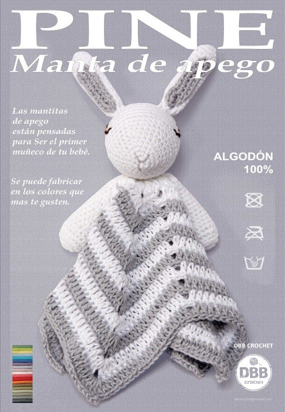 MANTA DE APEGO / DBB crochet - Artesanio