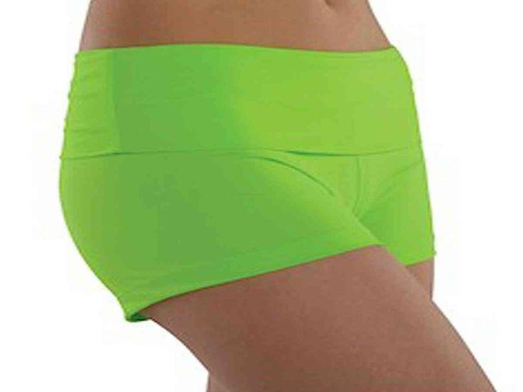 Green Cheer Shorts