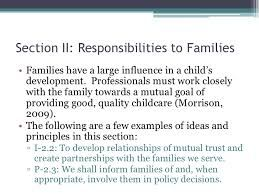 Image result for ethics in child care