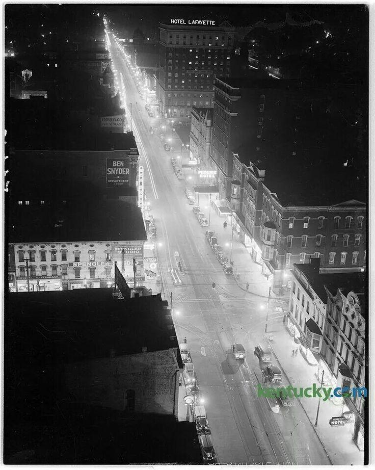 Downtown Lexington Kentucky 1944 118 best History