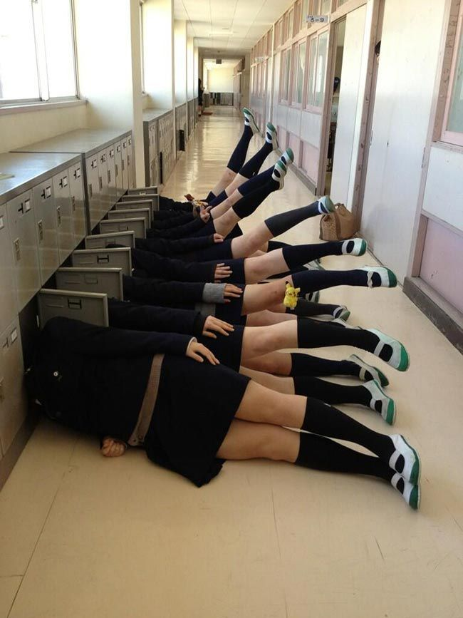 15 funny pictures of Japanese high school students with too much imagination | Daily Onigiri