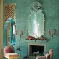 Marokkaanse slaapkamer voorbeeld