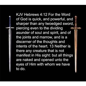 Bible verse of the day Hebrews 4 12-13