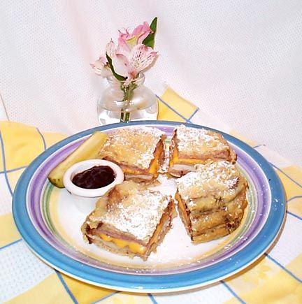 Bennigan's Monte Cristo Sandwich – make this famous sandwich at home.