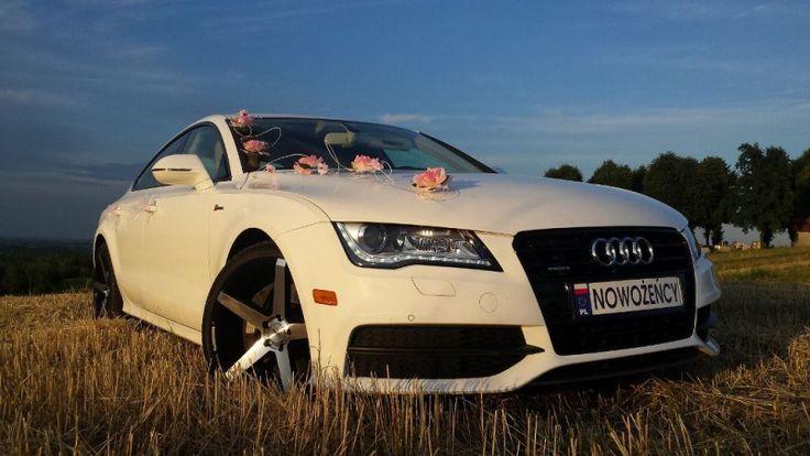 Luksusowe Audi A7 do ślubu