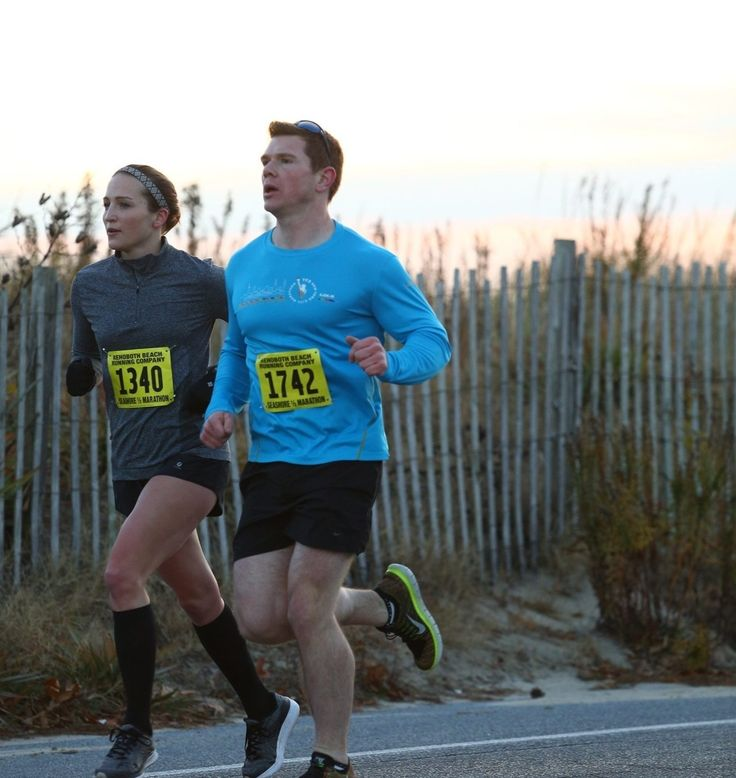 The story of how I set and achieved a sub-1:32 Half Marathon goal (and then some) #halfmarathon #running #racing #rehobothbeachhalf