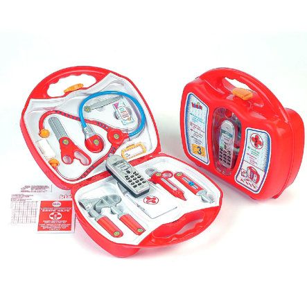 KLEIN speelgoed dokterskoffer met mobiele telefoon pinkorblue.nl ♥ Ruim 40.000 producten online ♥ Nu eenvoudig online shoppen!