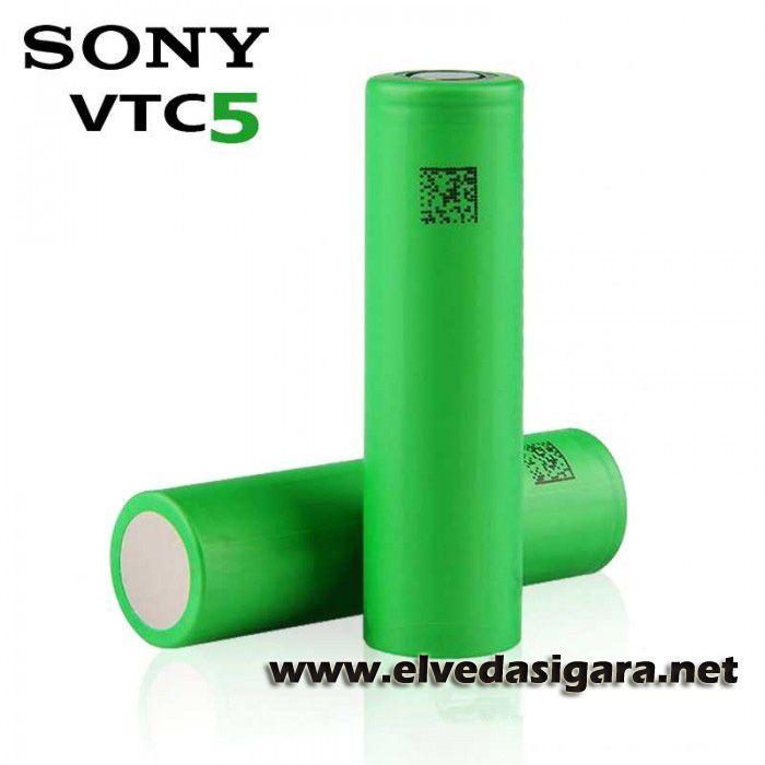 Sony vtc5 pil. Elektronik sigaralar için tasarlanmıştır.