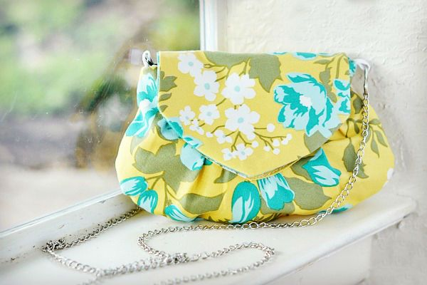 DIY Evening Clutch / Purse Tutorial in pictures. Шьем сумочку-клатч