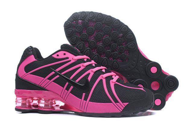 Nike Shox Kpu Black Pink Womens Running Shoes NIKE-NSZ002120 in 2019 ... c615abf97