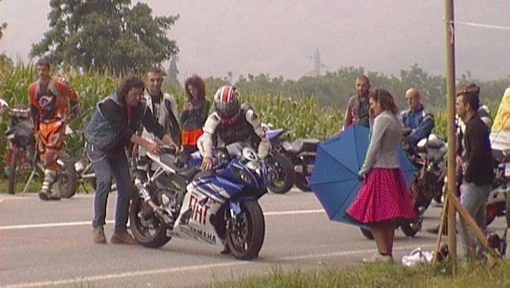 Posizionamento della moto