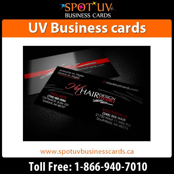 Make a strong impression with our high quality UV Coating Business Cards, Awesome shape, glossy,professional finish! Easy UV Business cards online ordering and free shipping https://www.spotuvbusinesscards.ca/uv-coated-business-cards.html