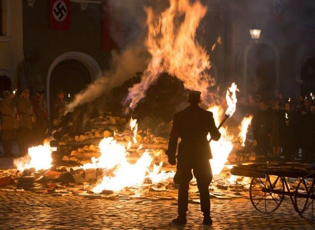 Image result for hitler night of fire