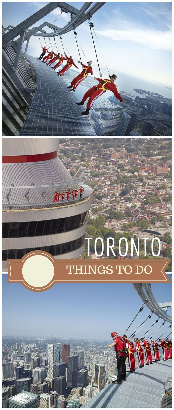 The EdgeWalk. Brave enough to try this? Photo: CN Tower: