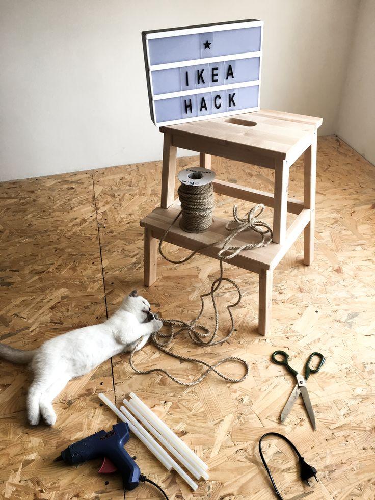#ikea #hack #hocker #bekväm #cat #мебель #сделайсам #когтедралка #лестница #табурет #икеа #cleaver #scandinavian #scandinavianinterior #scandilife #cozyhome #catlover #кот #diy #скандинавскийинтерьер #интерьер