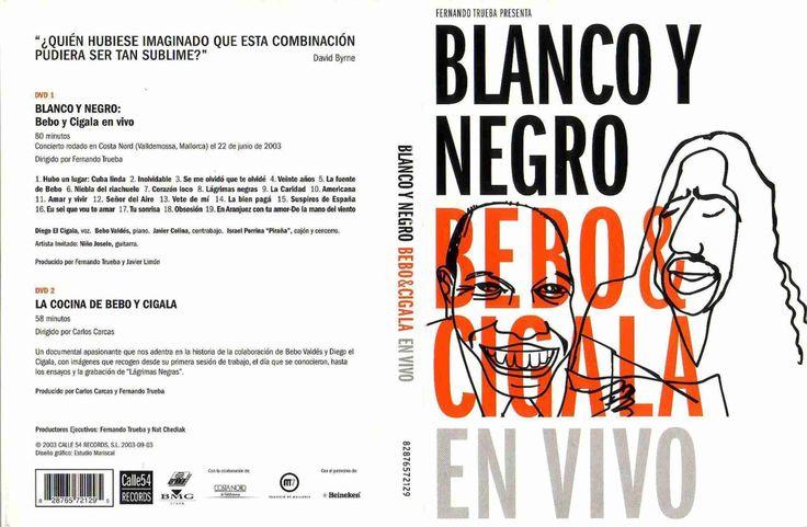 Full DVD en Concierto Blanco Y Negro Bebo Cigala En Vivo