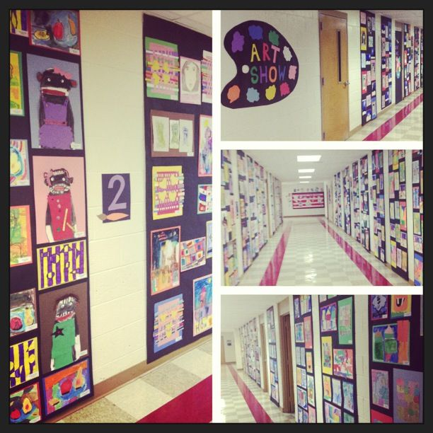 My students art show!