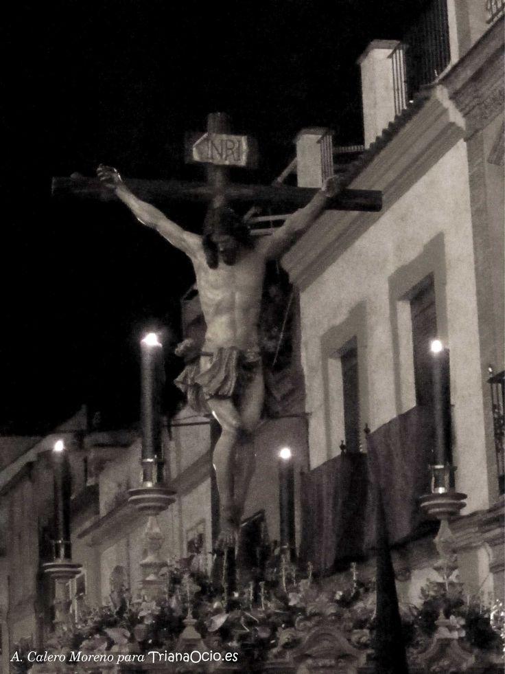 Hermandad de Pasión y Muerte de Triana, Sevilla · Viernes de Dolores. Semana Santa 2015  http://www.trianaocio.es/ Triana Ocio | Agenda Cofrade