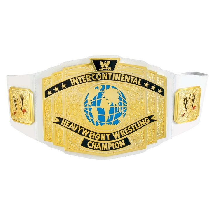 Wwe Intercontinental Championship Title Belt, Boy's, Size: Large, Grey