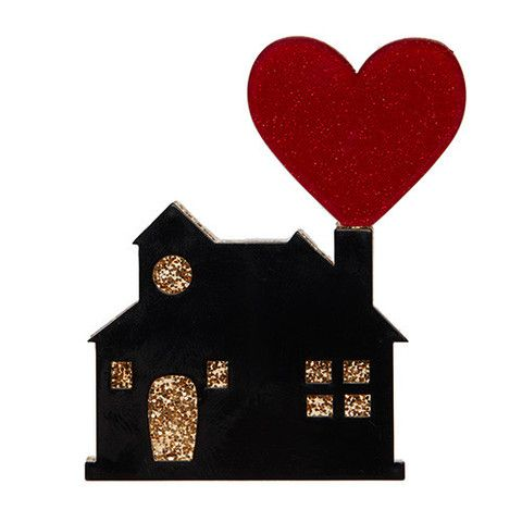 Where the Heart is Brooch