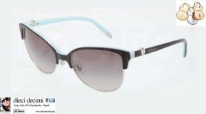 """Tiffany TF 4080 """"Lock"""" Collection Un occhiale sicuramente differente dagli altri modelli in quanto troviamo l'uso combinato di due materiali: l'acetato e il metallo"""