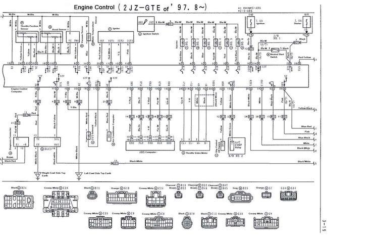 2Jzgte Engine Wiring Diagram and Supra Jzgte Vvti Wiring