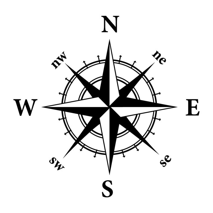 compass with arrow tattoo meaning