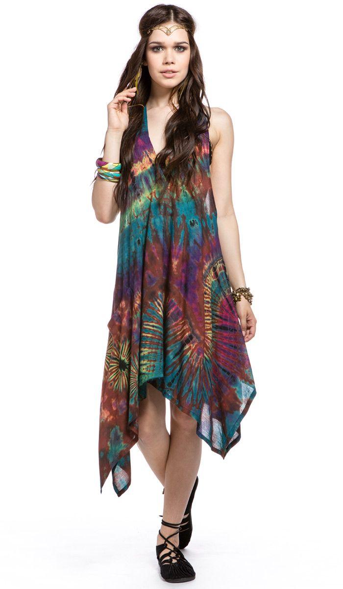 длинное платье, одежда в этническом стиле, одежда из Индии, тай-дай, бохо стиль, хиппи, индийское платье, boho, hippie, long Dress India, tie-dye, ethnic clothing. 9700 рублей