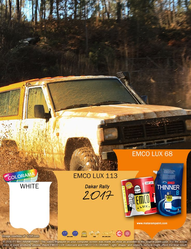 Kawan EMCO, Dakar Rally adalah ajang balap otomotif off-road paling bergengsi di dunia. Tantangan memicu adrenalin dalam menghadapi keganasan alam liar menjadi suguhan utama dalam balap ini. Awalnya balapan ini bernama Paris-Dakar yang diadakan mulai tahun 1978. Hingga tahun 2007, rute balap mengambil tempat dari Paris di Benua Eropa menuju Dakar di Benua Afrika. Perubahan rute balap terjadi pada 2009 karena adanya krisis di Afrika. Sejak saat itu penyelenggaraan Dakar Rally ber…