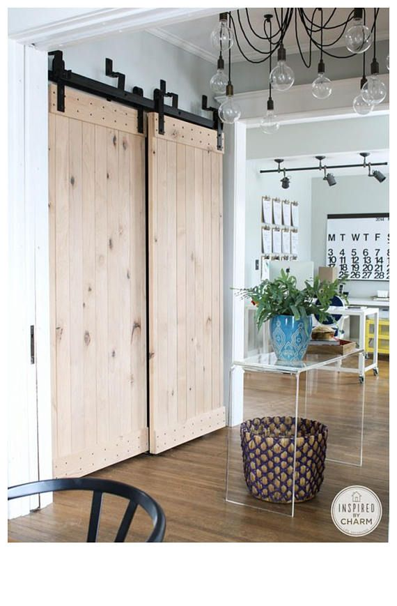 Bypass Barn Door Hardware X2f Classic Design X2f Horseshoe Maison Design Portes De Grange Interieur