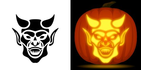 Pin By Muse Printables On Pumpkin Carving Stencils