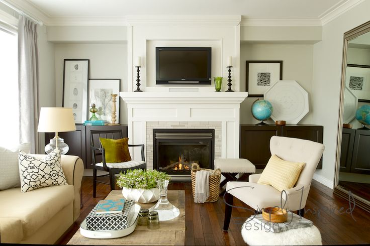 Classic Living Room — Simply Inspired Design ~ Intentional Design § Intentional Living
