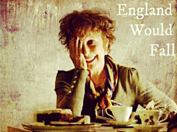 "BBC ""Sherlock"" - ""England would fall"" - Mrs. Hudson - original edit by Presley - presley4387"