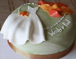 fall bridal shower ideas | make choosing the shower cake easy. For instance for a beach wedding ...