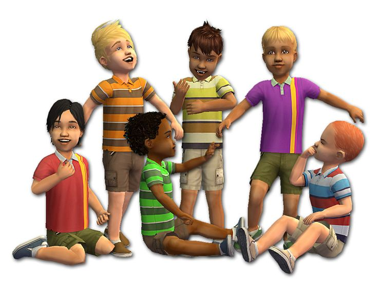 Mod The Sims - Polos for Pipsqueaks