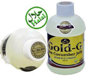 Jelly Gamat GOLD G merupakan produk herbal unggulan yang bersifat multikhasiat dalam mengatasi penyakit sindrom nefrotik. Diracik dengan menggunakan 100% bahan dasar ekstrak teripang emas yang diolah dengan menggunakan teknologi canggih dan diformulasikan oleh para pakar kesehatan yang sangat kompeten dibidangnya, Sehingga khasiat, kualitas, keamanan dan kelayakan konsumsinya sangat terjaga dengan baik.