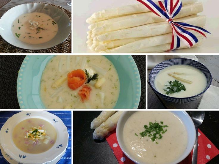 De Hollandse asperge is er weer. Wil jij er graag een soep mee maken dan kun je hier je keus maken. 8 verschillende aspergesoepen met Hollandse asperges.