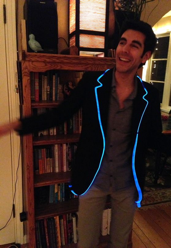 5/16/15 this is a good idea because it has a little bit od led lights as an accent, so it is more wearable for everyday people