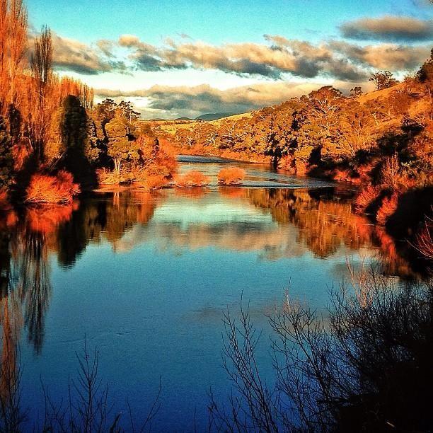 Derwent River, Hobart. #tasmania #discovertasmania Image courtesy of redparka.