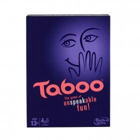 Classic Taboo game challenges you to guess words and phrases You lose a point if you use any of the Taboo words