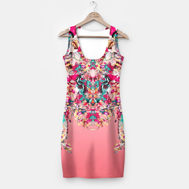 Botanical Pink by RIZA PEKER 44.95€ #dress #dresses #custom #apparel #fashion