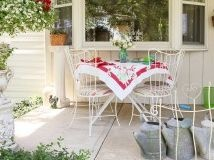 A quaint childhood home in Madison County gets new love with DIY projects, flea market finds and eclectic vintage treasures