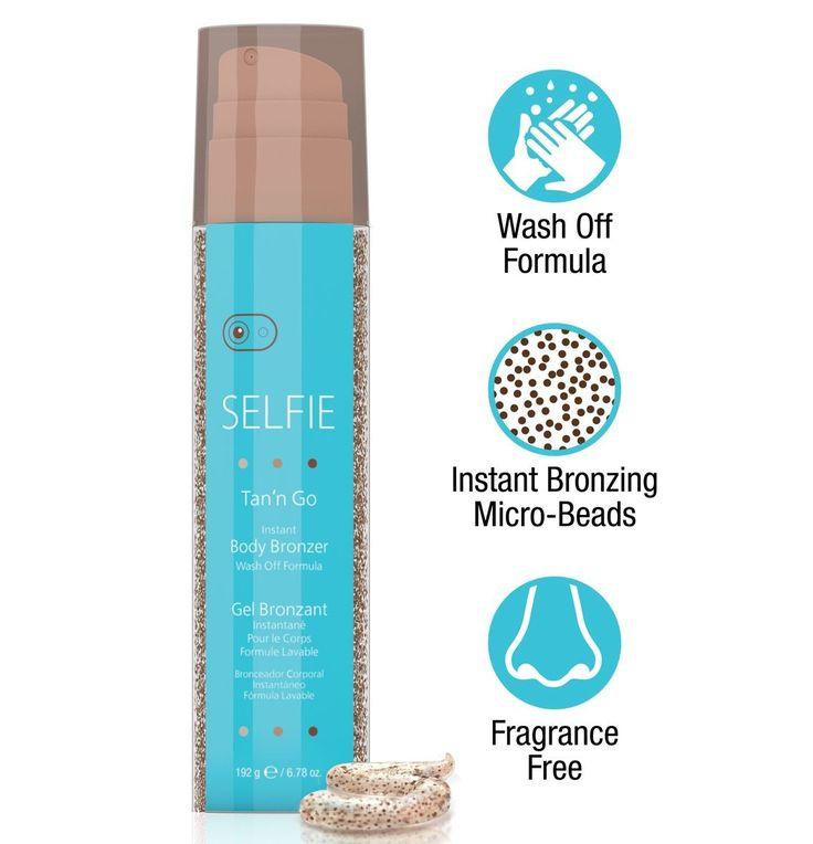 Ultra gyorsan száradó, foltmentes, csodás barnaságot ad. Az egész testre használható.  Lemosha önbarnító krém.