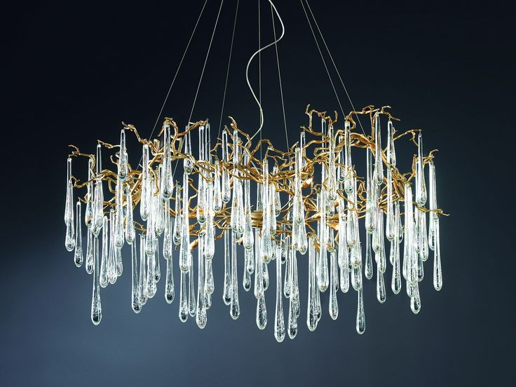 Serip, organic lighting chandeliers inspired by Nature