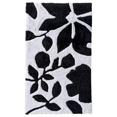 247 Best Bathroom Ideas Images On Pinterest  Bathroom Restroom Amusing Black And White Bathroom Rugs Inspiration Design