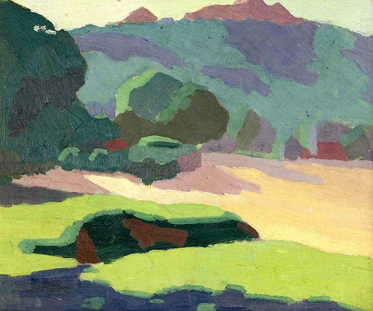 Roland Shakespeare Wakelin (1887-1971) Landscape, 1919