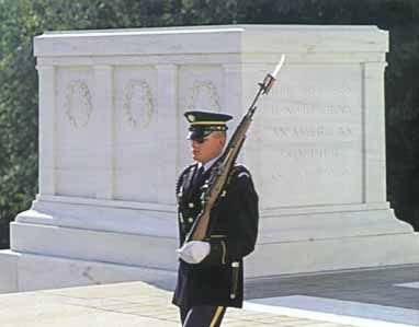 Changing of the Guards at Arlington National Cemetary