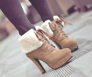 Fuzzy Boot Heels ♥
