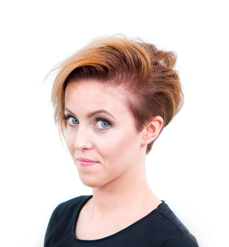 Strzyżenie w sekcji podkowy z wykorzystaniem techniki undercuting'u oraz koloryzacja dualna - Strzyżenie damskie z koloryzacją | STEP4HAIR  #hair #fashion #ombre #ombrehair #spring #summer #top #hairdressing