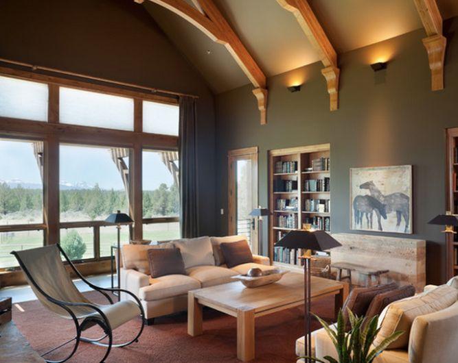 40 Rustic Living Room Ideas To Fashion Your Revamp Around: Best 25+ Honey Oak Trim Ideas On Pinterest
